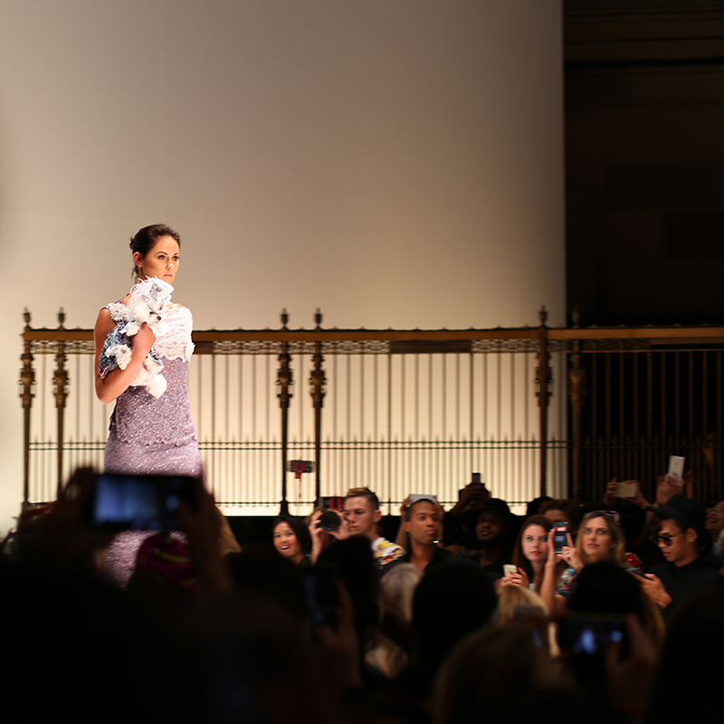 Mochi and the City - New York Fashion Week Anthony Rubio